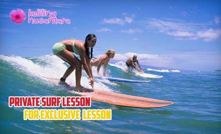 34 Private Surf Lesson