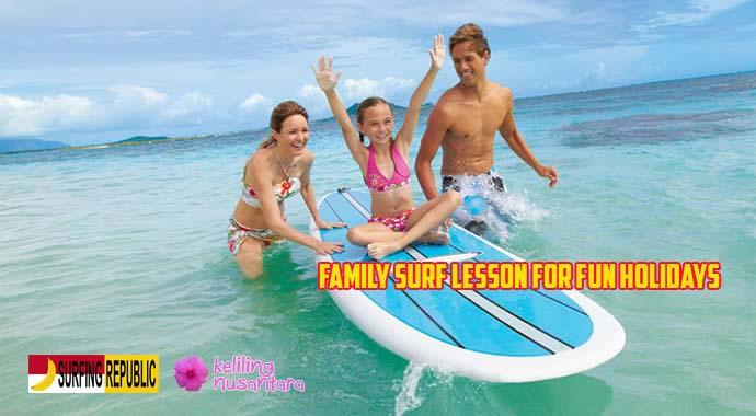 40 Family surf lesson Canggu   Bali Surfing Beginner